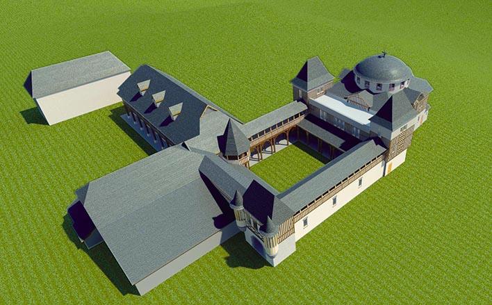Vue en 3D du nouveau catholicon
